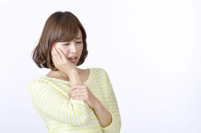 女性歯が痛い